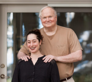 Maggie Schein and Pat Conroy